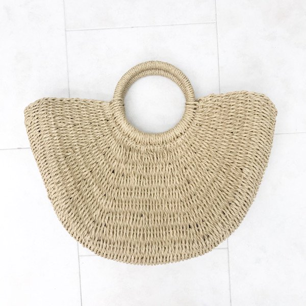 natural half moon  BAG