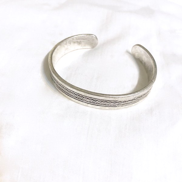 feather center bangle