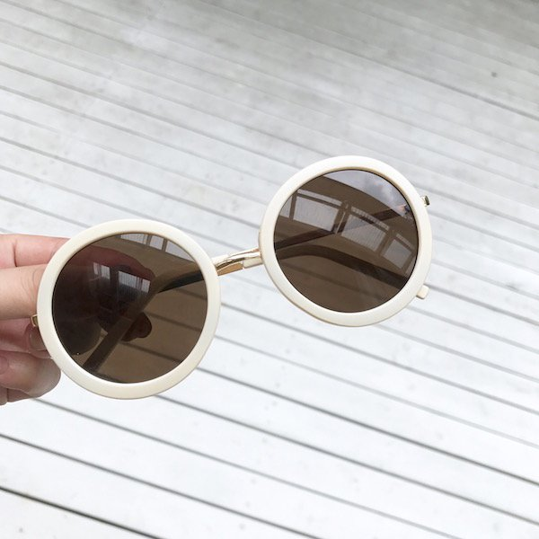 oeuf circle sunglasses