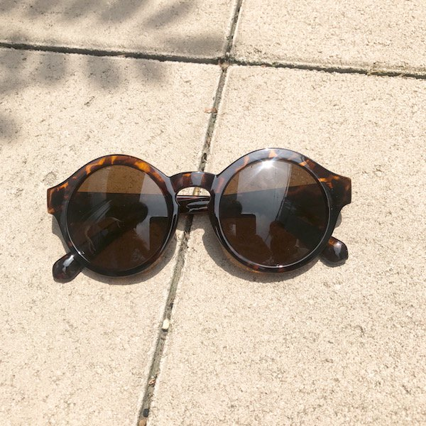clear flame chunkey sunglasses
