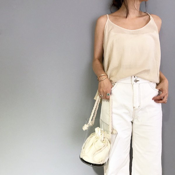 clear bucket rope BAG