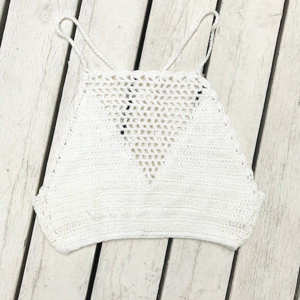 knit trapezoid camisole