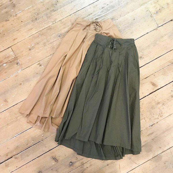back tail spindle skirt