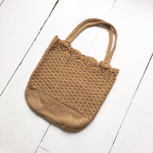 knit gauge mini BAG