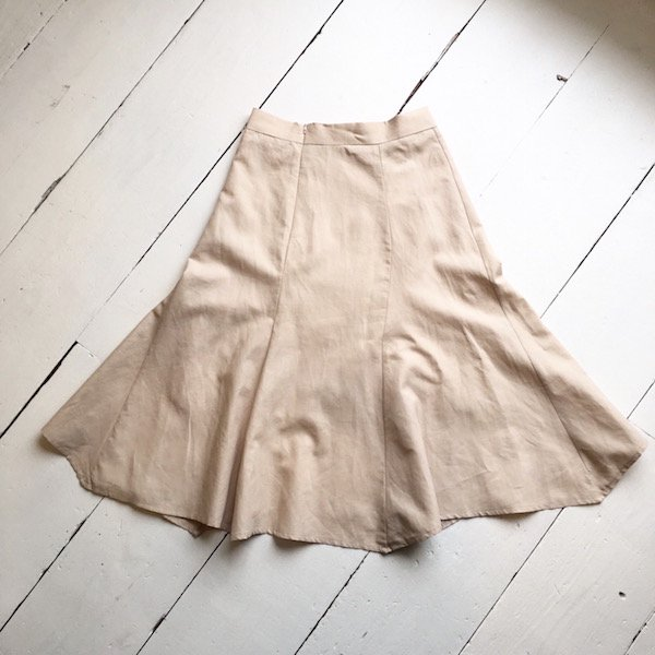 mermaid line color skirt
