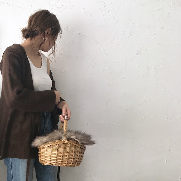 knit cache-coeur cardigan