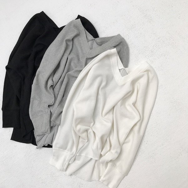 Vneck thermal tops