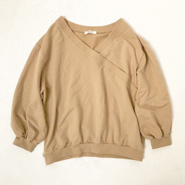 cache-coeur sweat tops