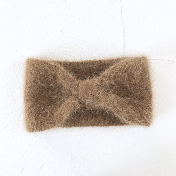 mohair ribbon hairband