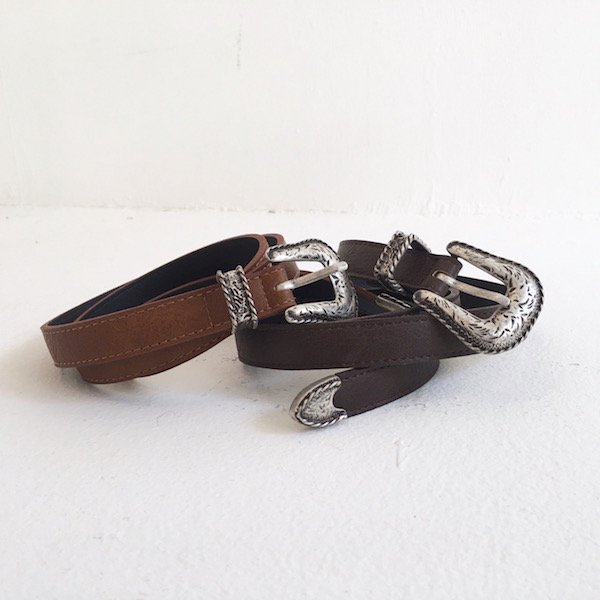 3color reef buckle belt