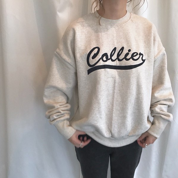 logo embroidery sweat