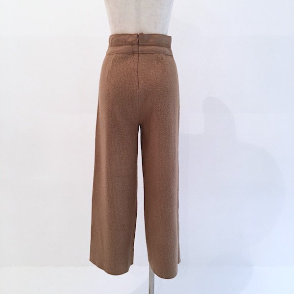 mild smooth ribbon arrange pants