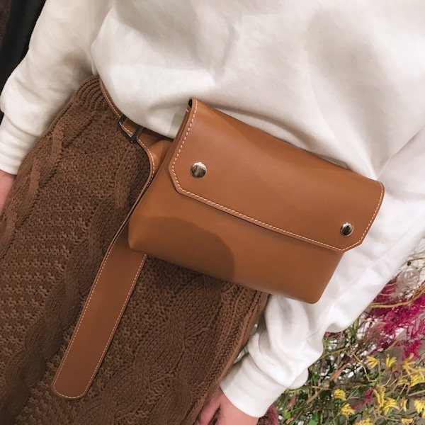 leather waist & shoulder porch