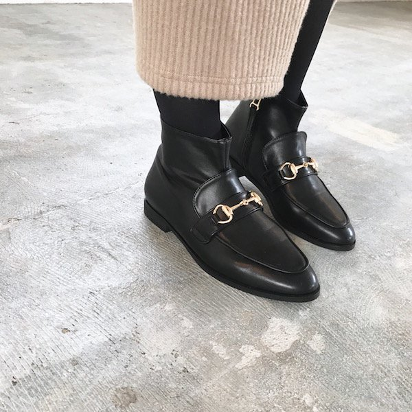 loafer short boots