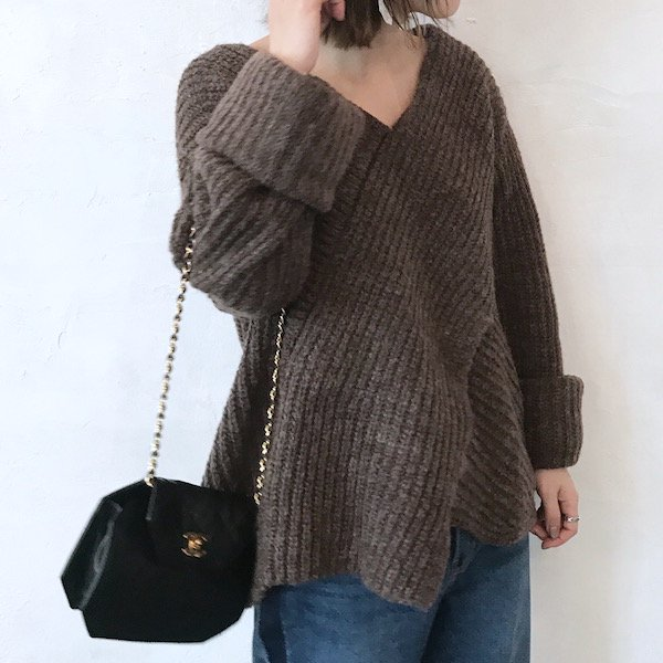 cross long arm knit