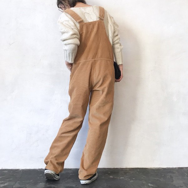 corduroy cropped overall