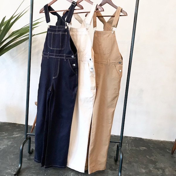 longer cotton overall