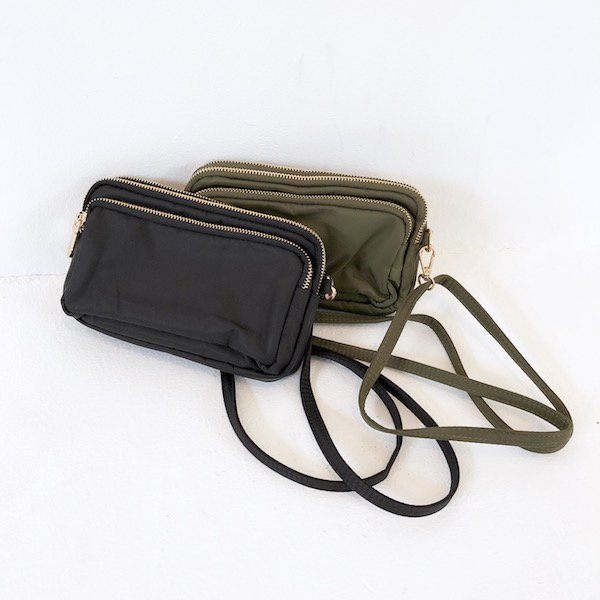 rectangle nylon three BAG