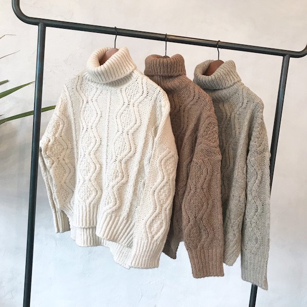 turtle wave soft knit