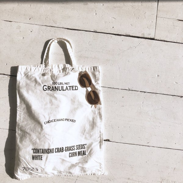 granulated logo BAG