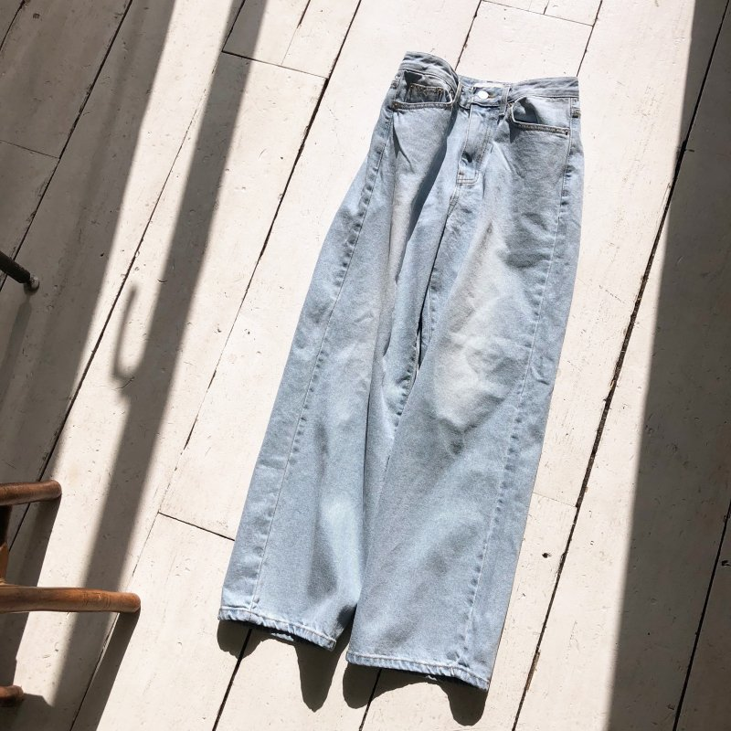 sometimes roll up denim