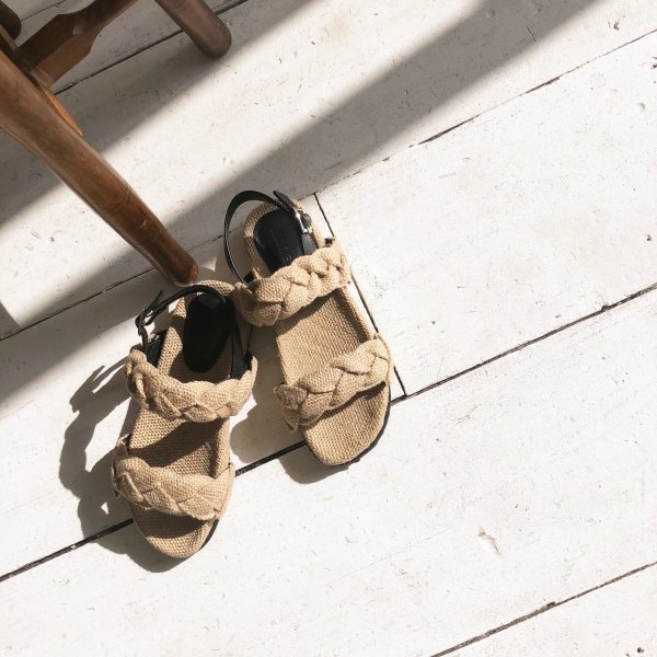hemp gauge sandal