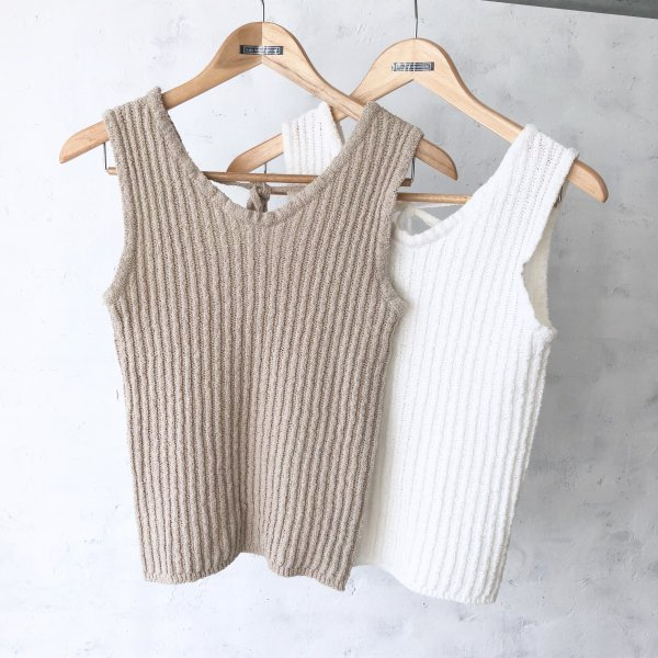 plush lib summer knit tank