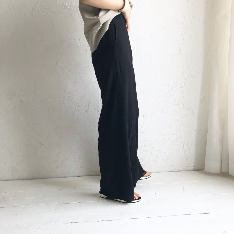 thick and linen loose pants