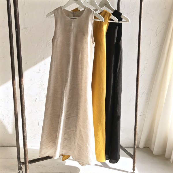 3way linen flare one-piece