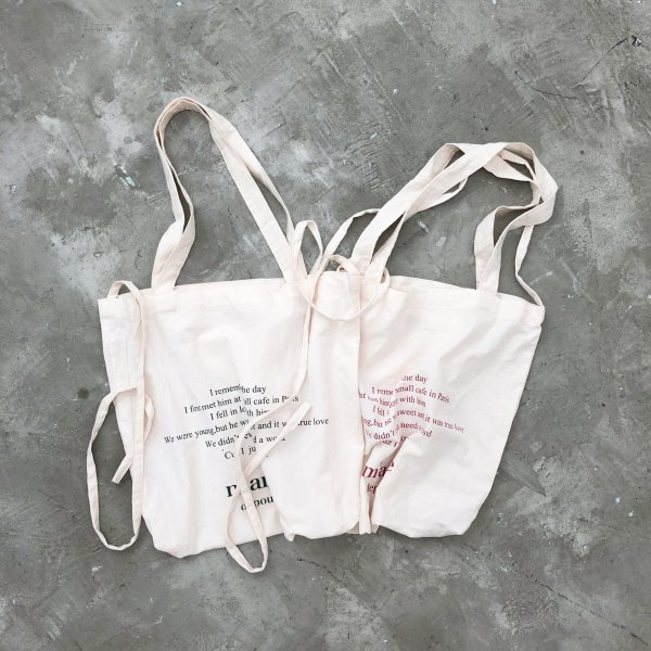 wrinkled 2way message BAG