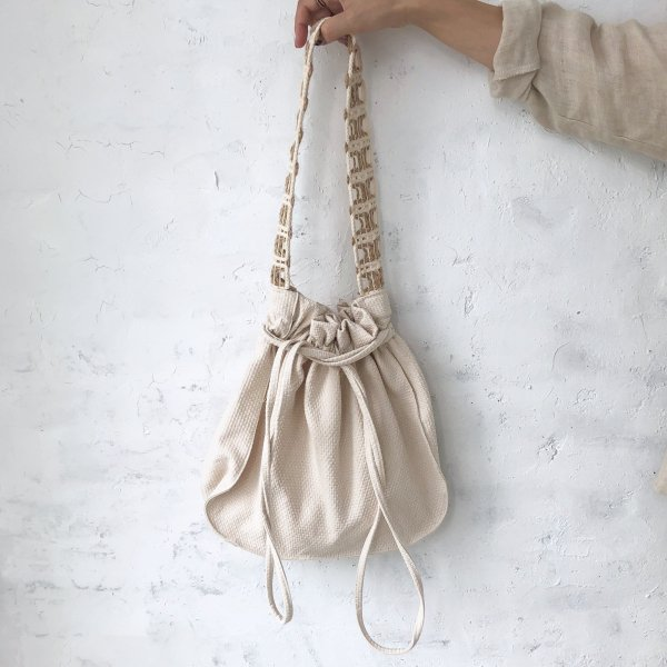 hemp braid shoulder BAG