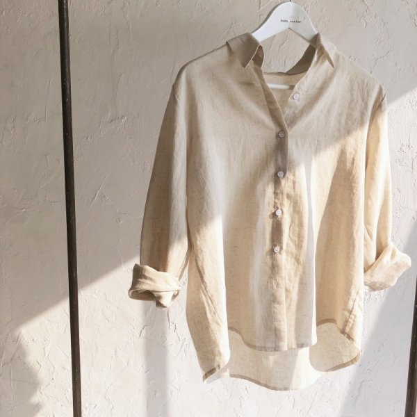 develop cotton in linen shirt