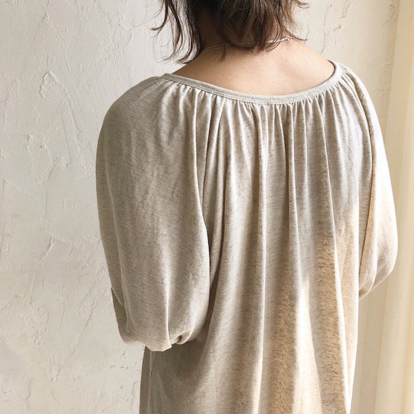 front slit linen cutsaw one-piece