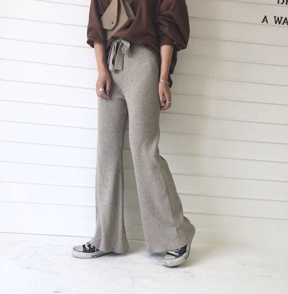 rich comfort knit lib pants