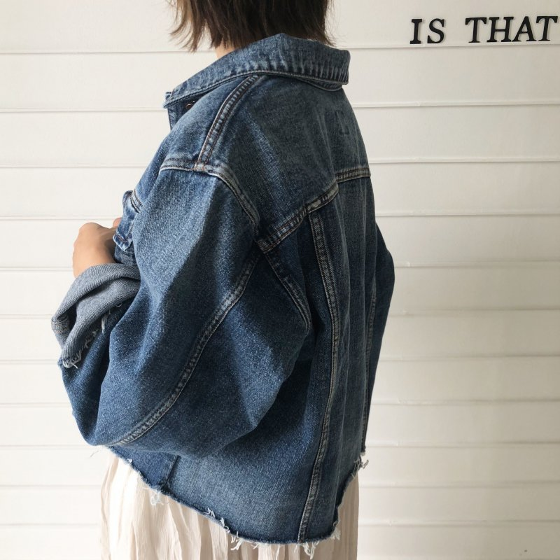 branch out cut denim G/JK