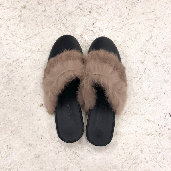 sort out fur slip-on