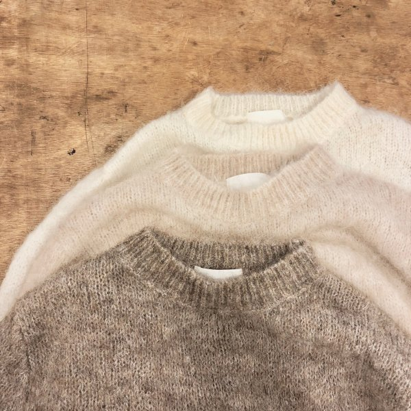 earthing mohair knit