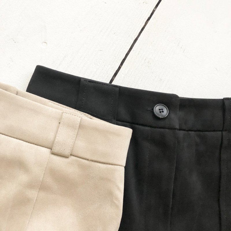suede gentry S/pants