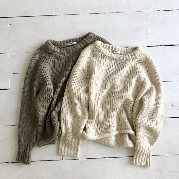 chubby round knit