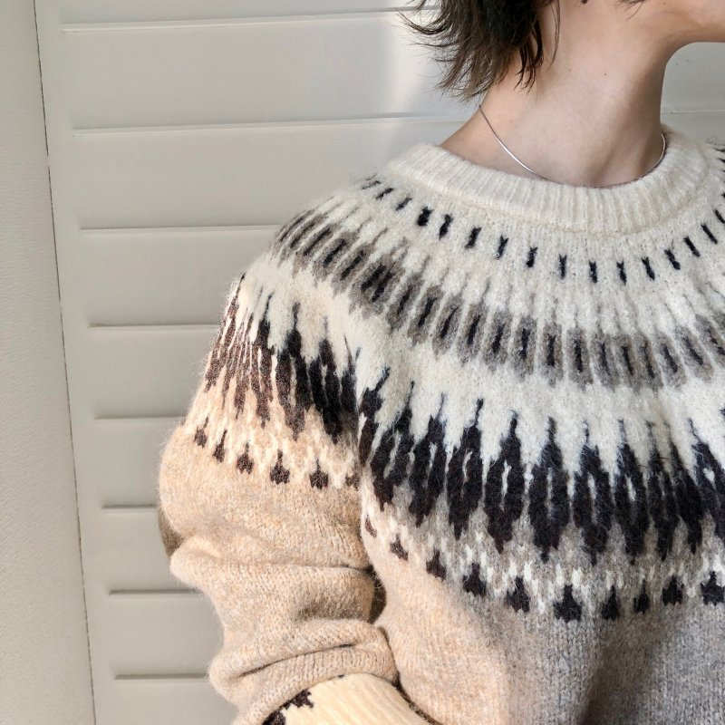 used design nordic knit