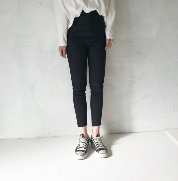 routine straight skinny pants