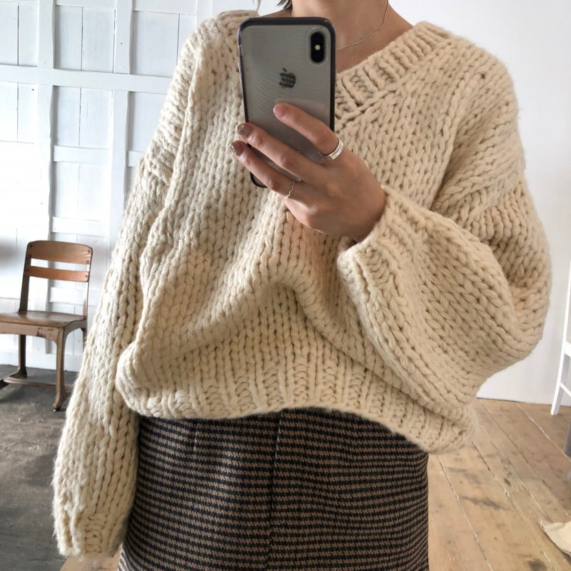 pupil handmade knit