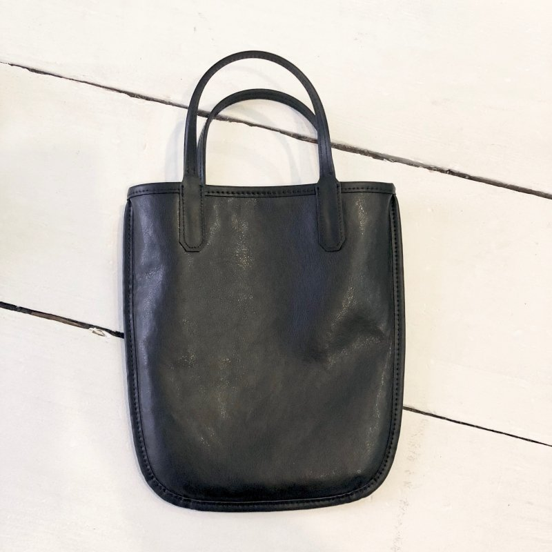 reversible boa tote bag