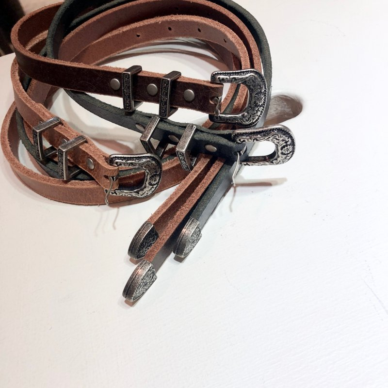petit vintage buckle belt