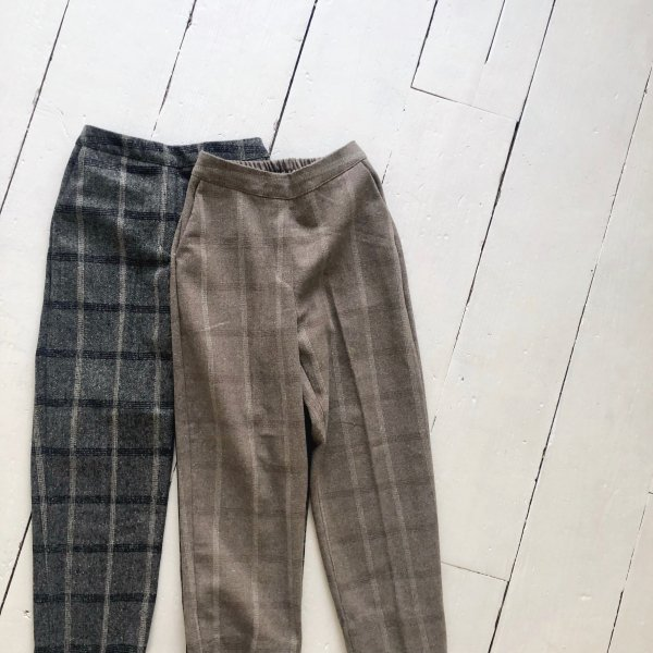 tattersall check pants