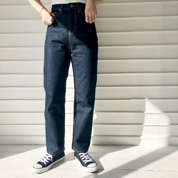 routine fast high-waist denim