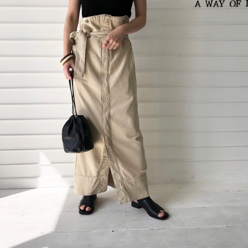 hang back loop 2way skirt