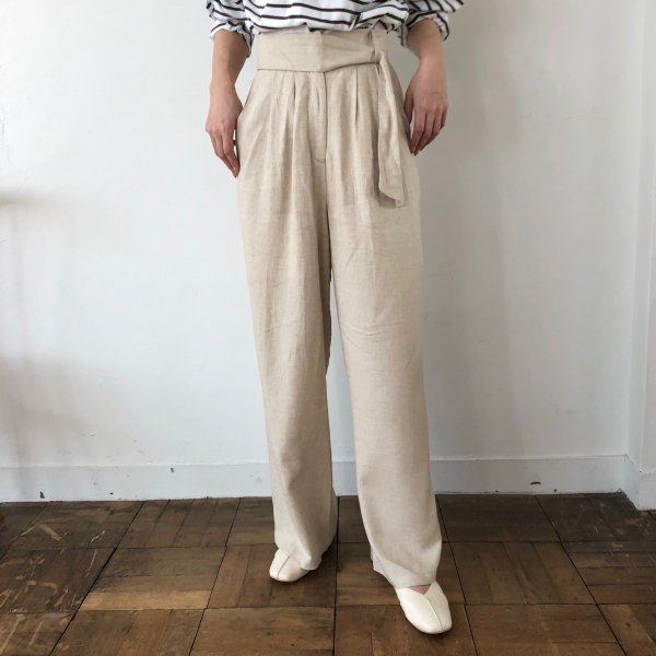 sash hang belt pants