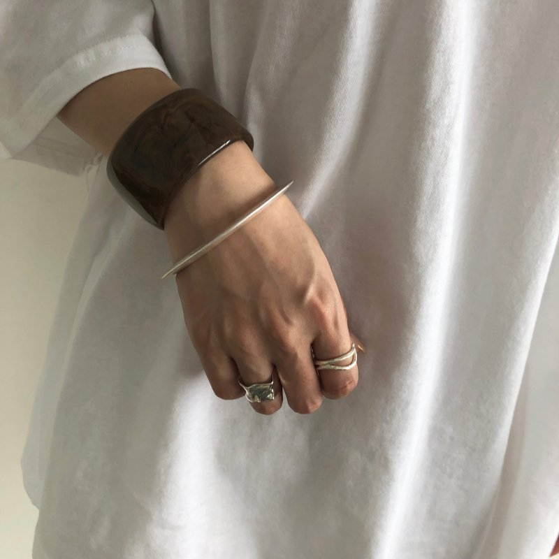 sick marble sacred bangle
