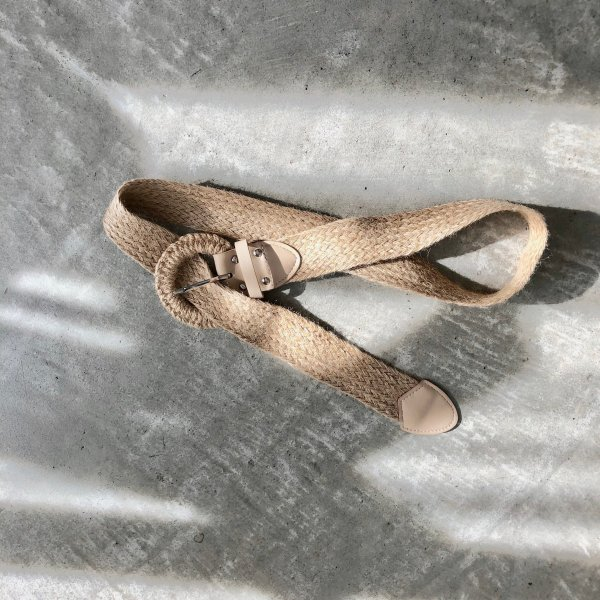 jute ring wide belt